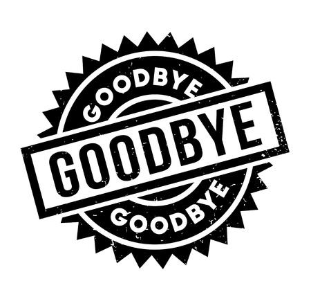 Goodbye rubber stamp Illustration