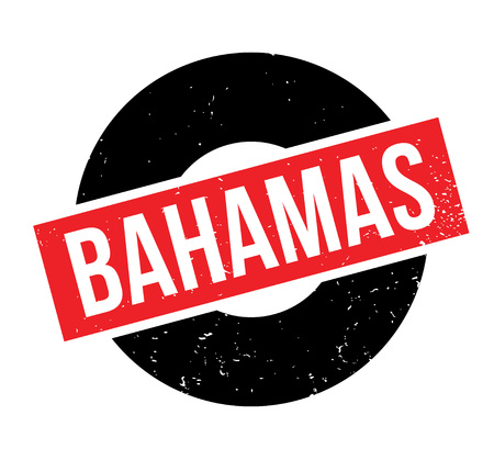 Bahamas rubber stamp