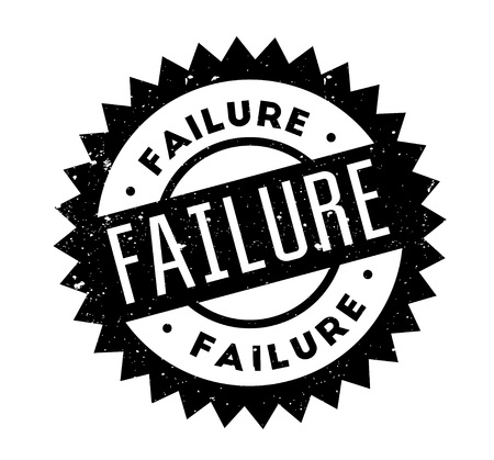 Failure rubber stamp Illustration