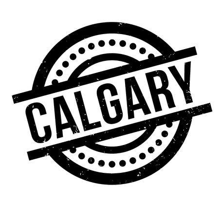 Calgary rubber stamp vector illustration.