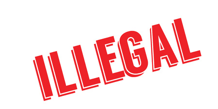 Illegal rubber stamp
