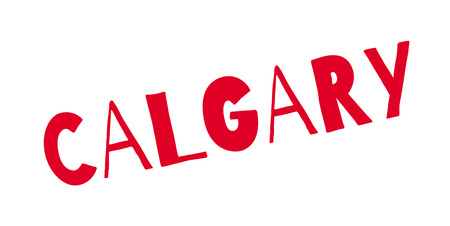 Calgary rubber stamp
