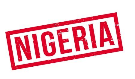 Nigeria rubber stamp