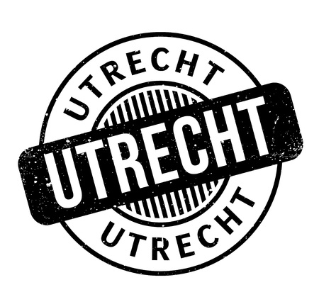 Utrecht rubber stamp Illustration
