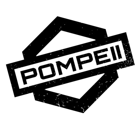 Pompeii rubber stamp