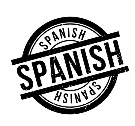Spanish rubber stamp