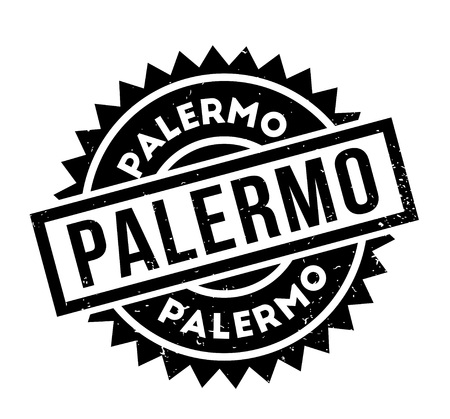 Palermo rubber stamp.