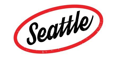 Seattle rubber stamp Illustration