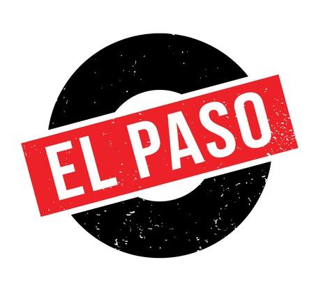 El Paso rubber stamp.