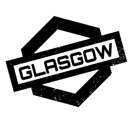 british culture: Glasgow rubber stamp