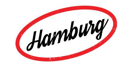 Timbre en caoutchouc Hamburg