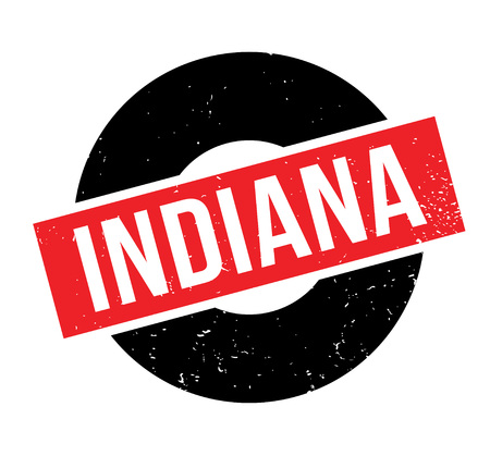 Indiana rubber stamp