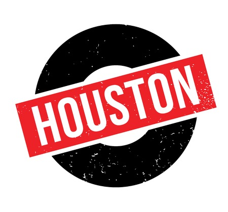 Houston-Stempel Standard-Bild - 85503470