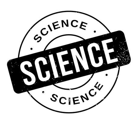 Science rubber stamp Векторная Иллюстрация