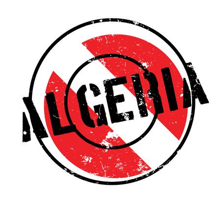 Algerien-Stempel Standard-Bild - 85503661