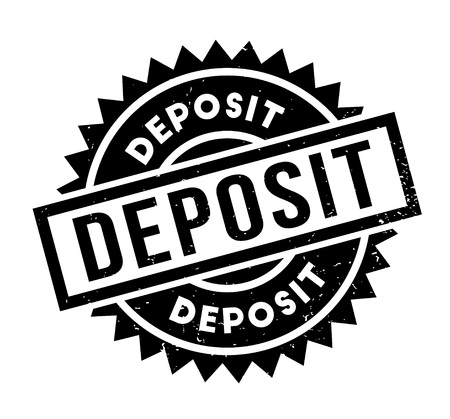 Deposit rubber stamp