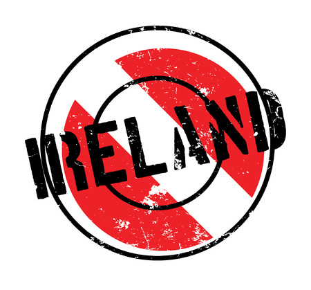 Ireland rubber stamp