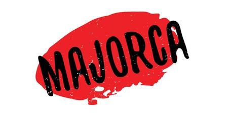 Majorca rubber stamp Ilustrace