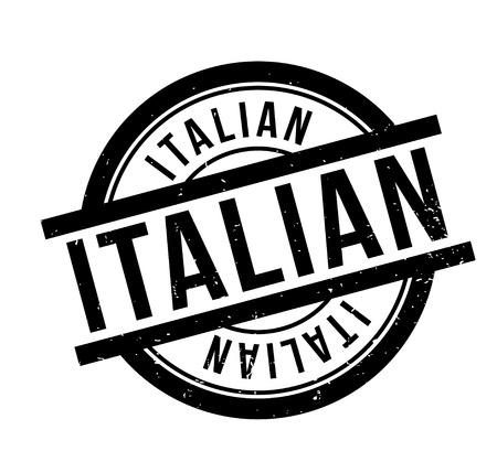 Timbro di gomma italiano