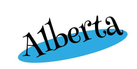 Alberta rubber stamp