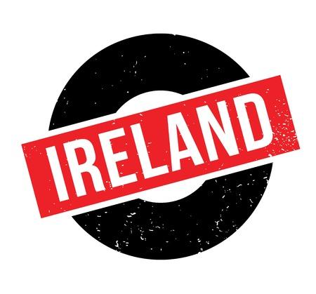 Ireland rubber stamp
