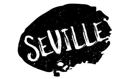Seville rubber stamp