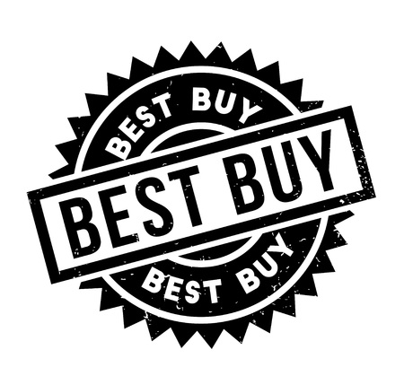 Best Buy rubber stamp Stock Photo