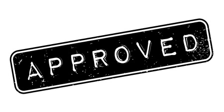 sanctioned: Approved rubber stamp.