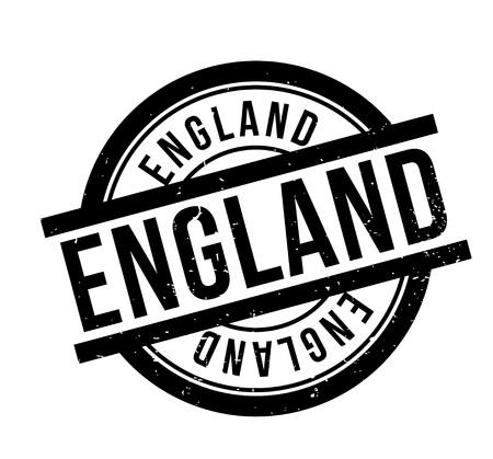 british culture: England rubber stamp. Illustration