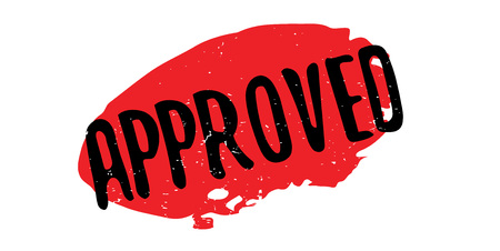 validation: Approved rubber stamp