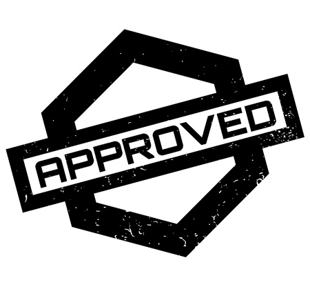 valid: Approved rubber stamp