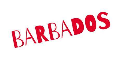 Barbados rubber stamp
