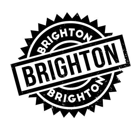 british culture: Brighton rubber stamp