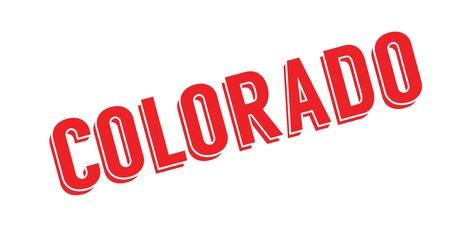 Colorado rubber stamp Stock Vector - 85819107