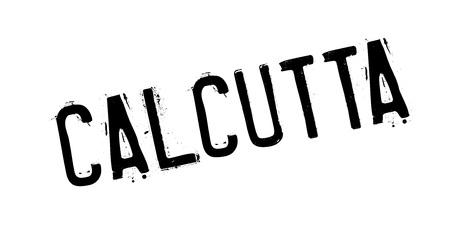 bengal: Calcutta rubber stamp Illustration