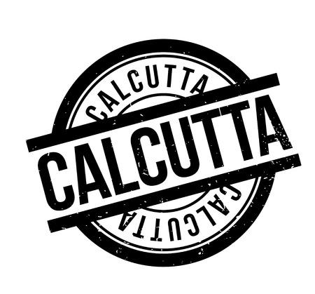 Calcutta rubber stamp Illustration