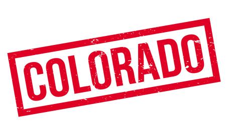 colorado springs: Colorado rubber stamp