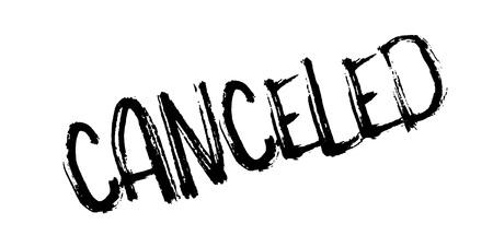 canceled: Canceled rubber stamp