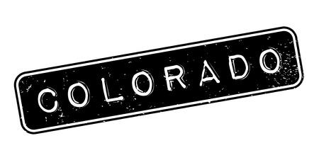 Colorado rubber stamp Stock Vector - 85819270
