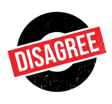 Disagree rubber stamp Banco de Imagens - 85819346