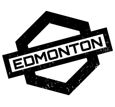 Edmonton rubber stamp vector illustration Illustration