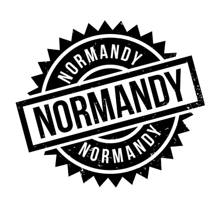 Normandy rubber stamp