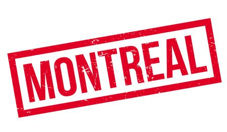 Montreal rubber stamp Illustration
