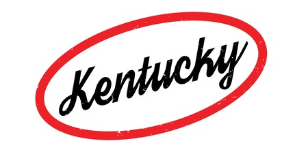 Kentucky rubber stamp Ilustrace