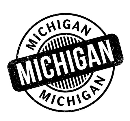 great: Michigan rubber stamp