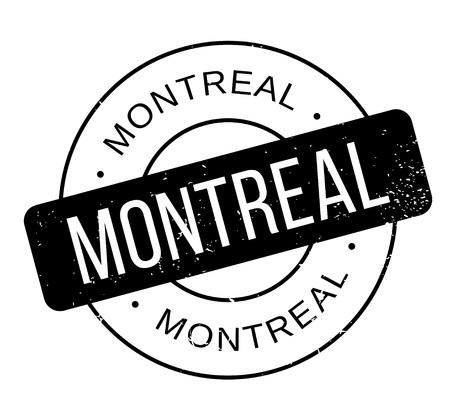 Montreal rubber stamp. Иллюстрация