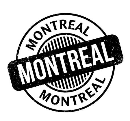 Montreal rubber stamp Иллюстрация