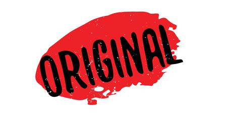 legitimate: Original rubber stamp