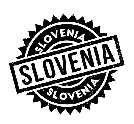 Slovenia rubber stamp Stock Vector - 86191469