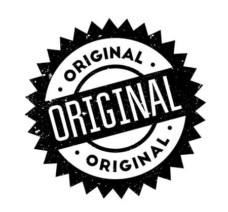 Original rubber stamp